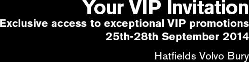 Your VIP Invitation